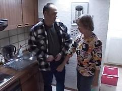 One Old Cock Satisfies Granny And Teen