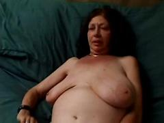 Chubby Old Granny With Big Saggy Tits Fucks