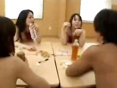 Nude Students Orgy Class