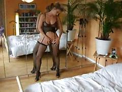 Lovely amatuer Milf in lingerie