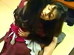 Asian Teens Making Out And Sucking Titties