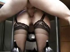 Hot Milf With Big Melons Drilled In Doggy Style