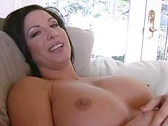 Busty milf vs. young stud