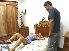 Hot Indian Bitch Gets A Load Squirted On Her Tongue.
