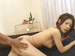 Amazing Asian Tits Bounce As She Gets Fucked By Two Guys