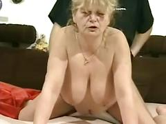 Sexy Granny Gets Fucked Beautifully In All Her Holes