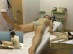 Skinny Asian Gets A Full Body Massage With Oil