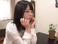 Innocent Young Asian Takes On Two Hard Cocks