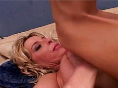 Skanky Centerfold Blonde Has Her First Taste Of Sex On Video