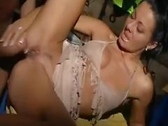 Drunk girl cheated on her husband