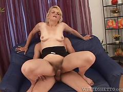 Witness as all these fucksluts get their unshaved vag creampied!