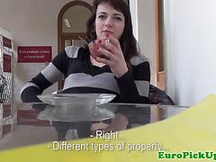 Real Slutty Pulled European Babe Car Fucked